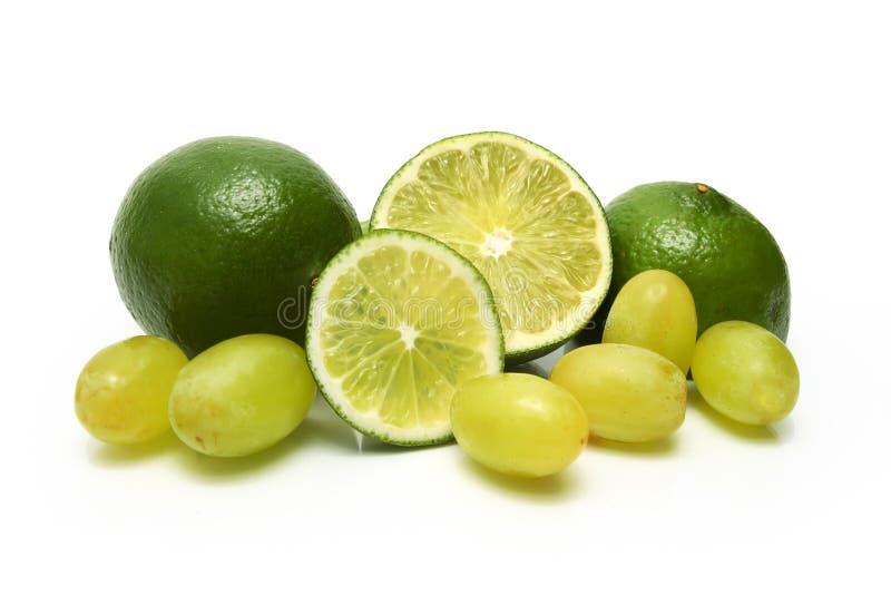 druvalimefrukter arkivfoto