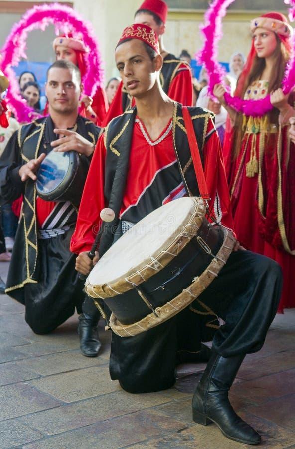 druzefestival royaltyfri bild