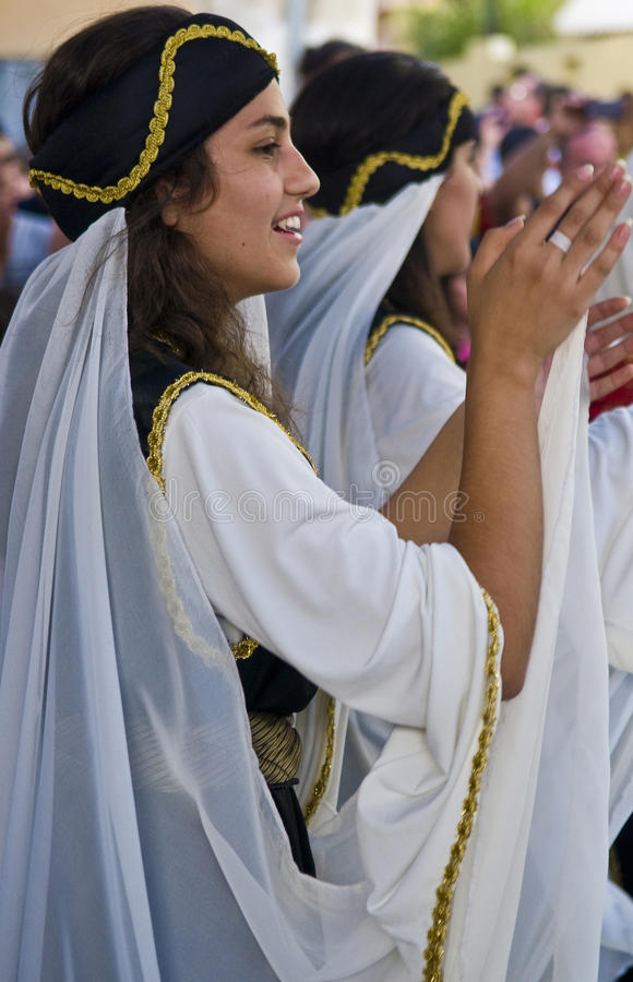druzefestival arkivbild