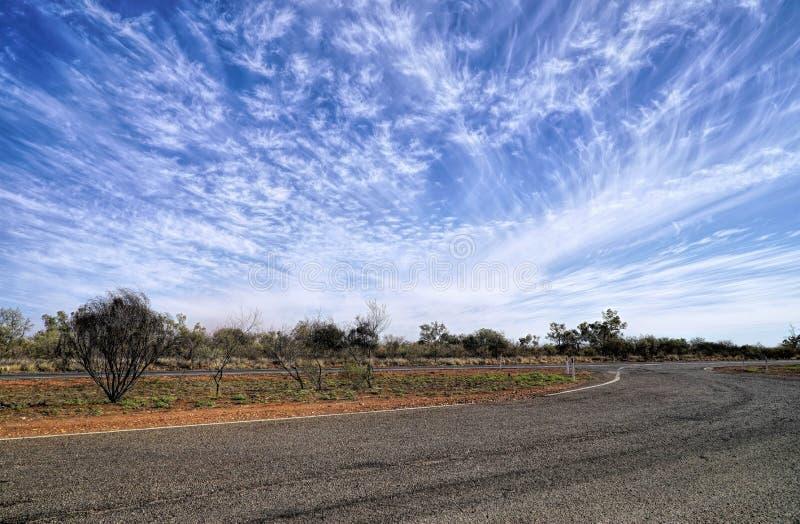 Dry arid landscape royalty free stock images