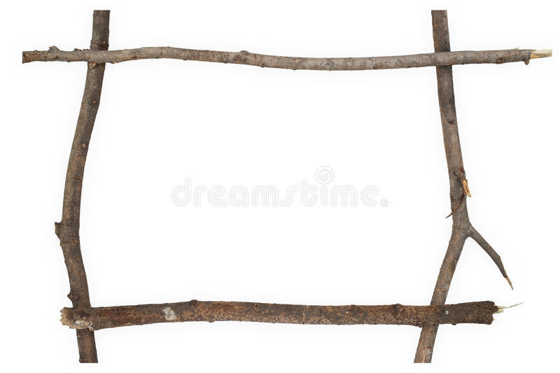 Dry branches frame stock image. Image of brown, picture - 46534153