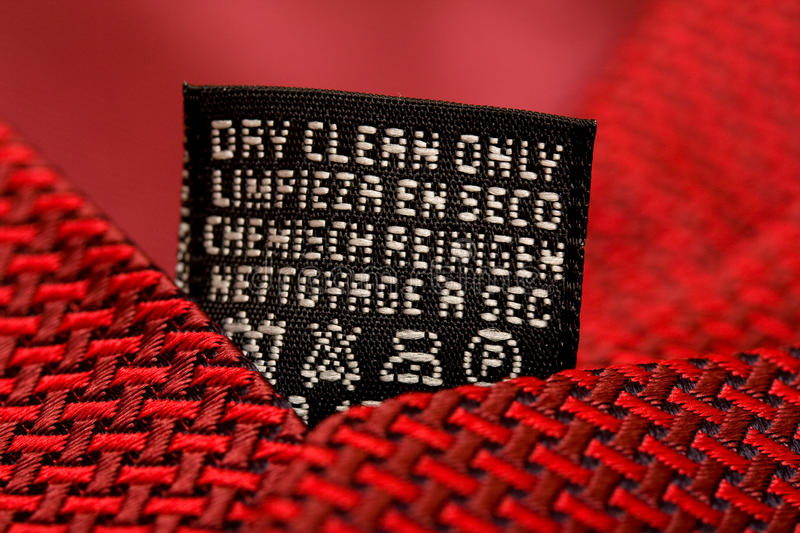 Download Dry Clean Only Royalty Free Stock Photos - Image: 13280308