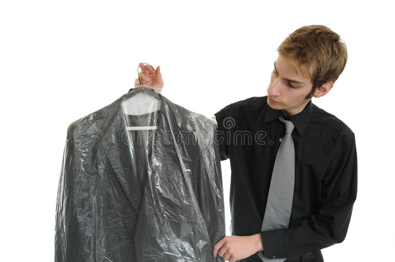 Download Dry Cleaned Suit stock photo. Image of isolated, cleaning - 13917852