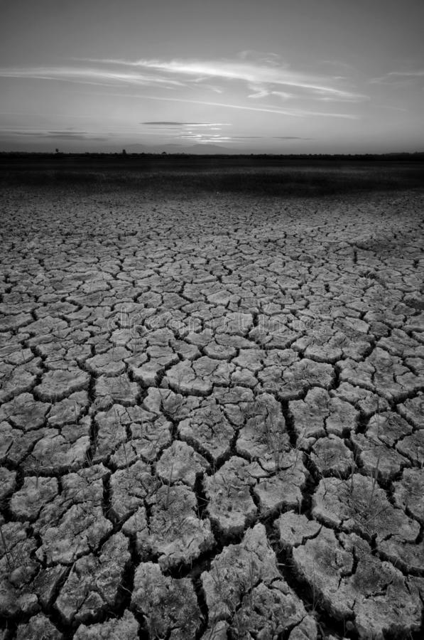 Dry cracked desert. The global shortage of water on the planet. Global warming and greenhouse effect concept. Dry cracked desert global shortage water stock images