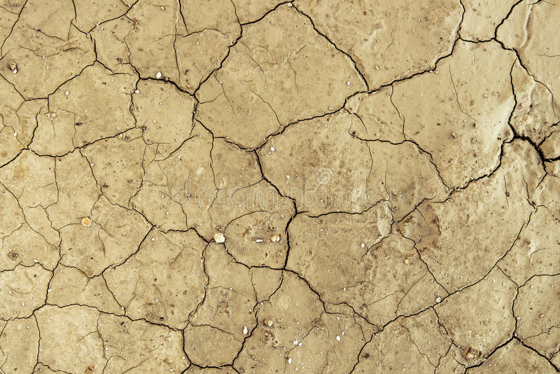 Dry cracked dirt Desert Background Texture Pattern stock images
