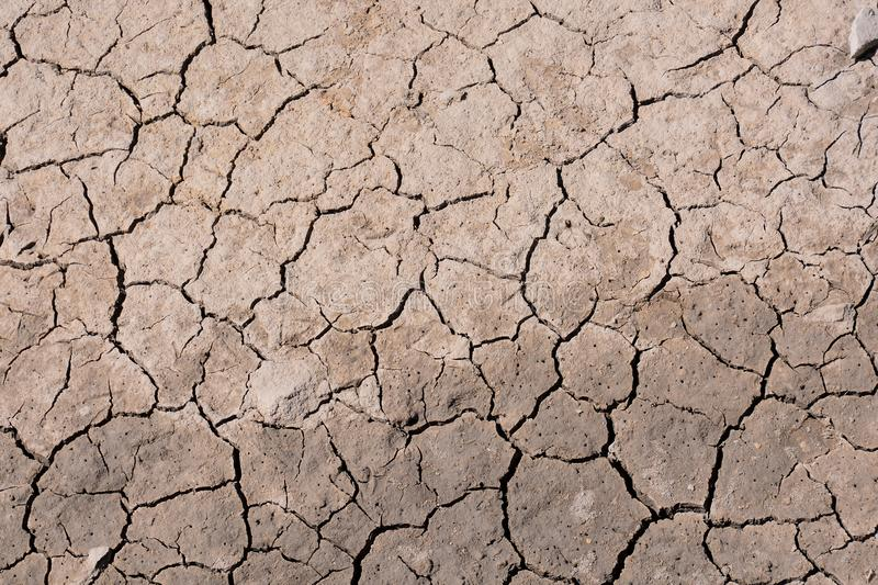 Dry cracked earth texture. Photo Picture of Dry cracked mud earth texture royalty free stock photography