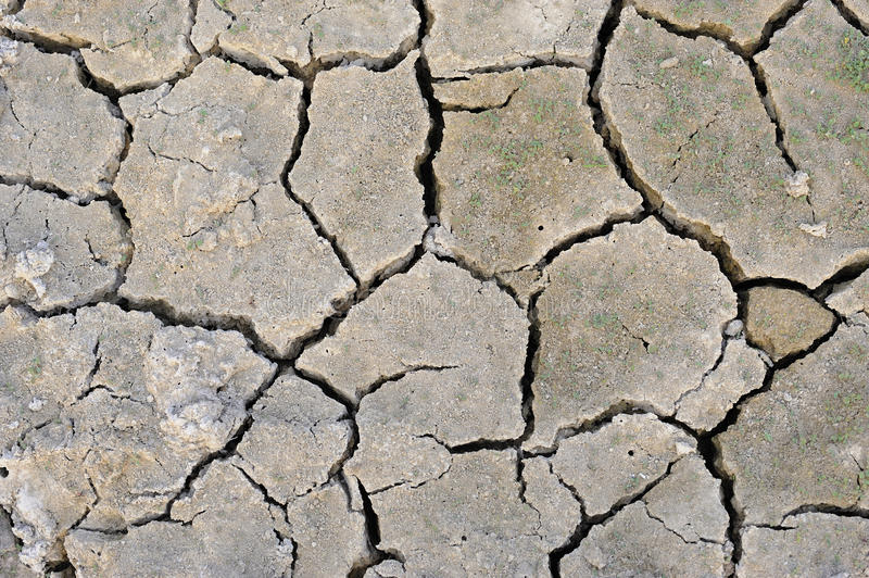 Download Dry cracked ground stock image. Image of rainless, torrid - 12784521
