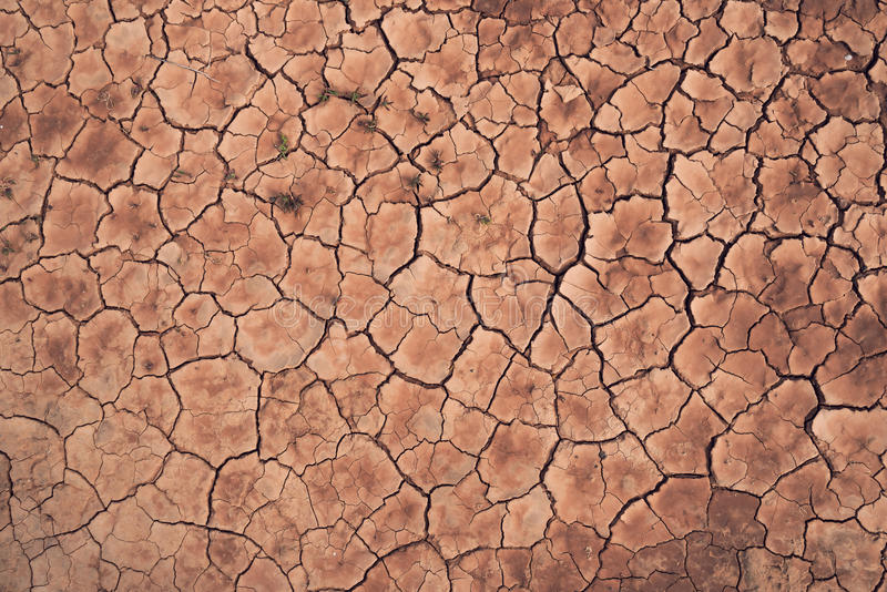 Dry cracked land texture background royalty free stock photos