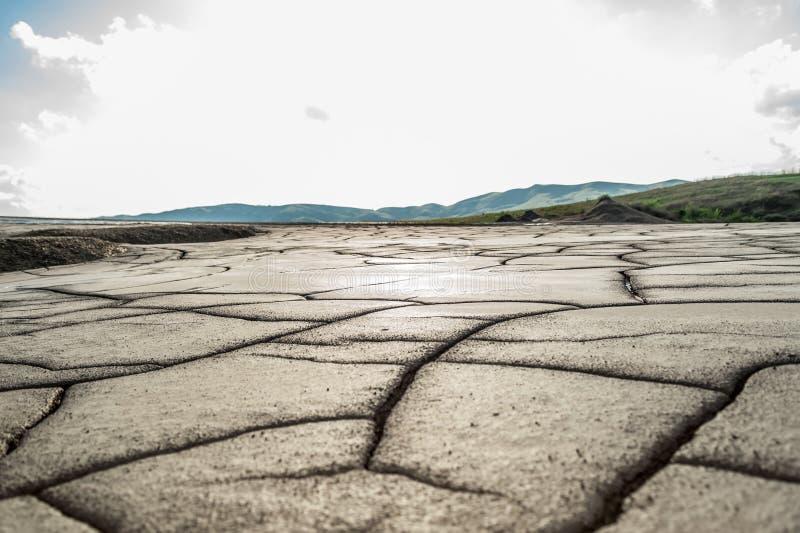 Dry cracked mud royalty free stock image