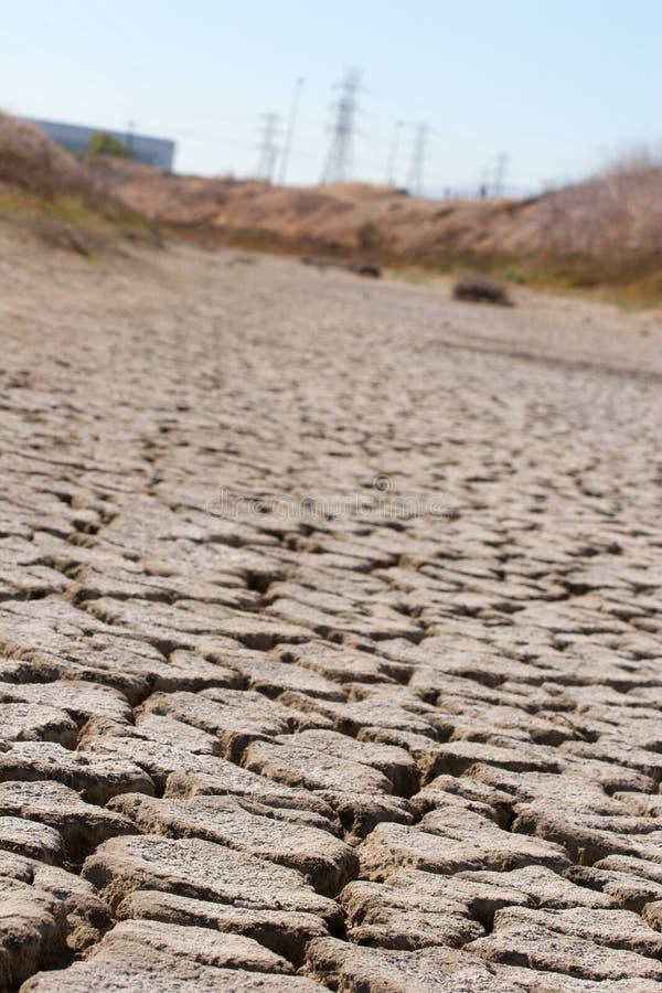 Dry Creekbed stock image