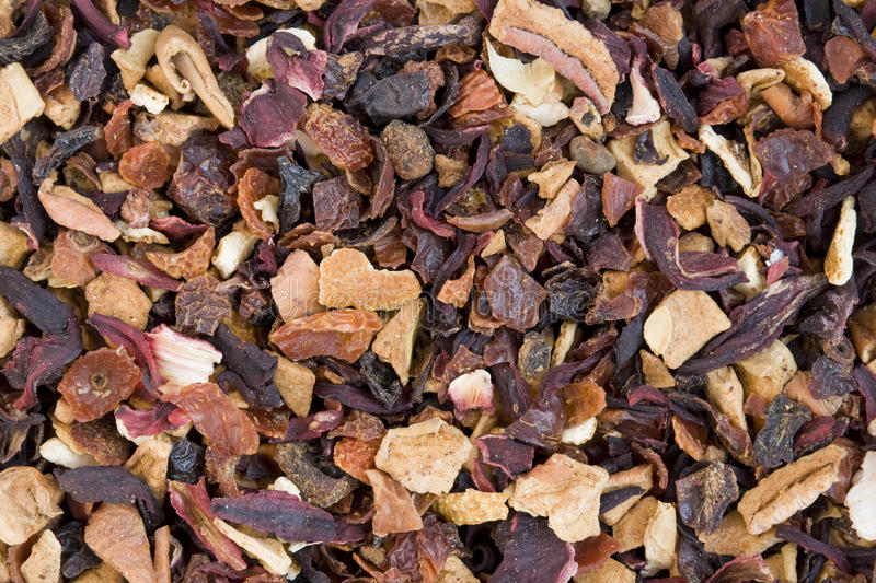 Download Dry Elite Flower Tea With Slices Of Exotic Fruit Stock Image - Image: 21373193
