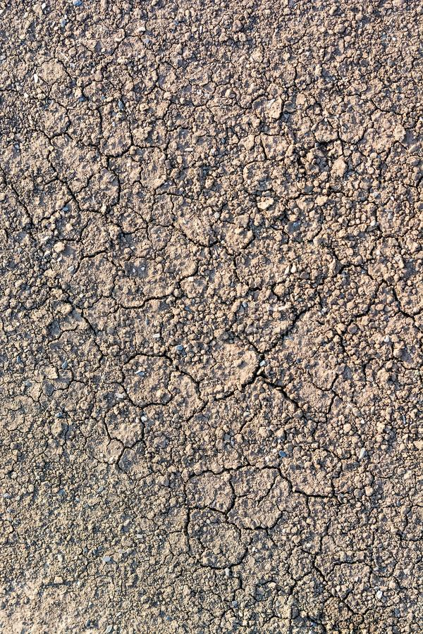 Dry fall ground with cracks royalty free stock images
