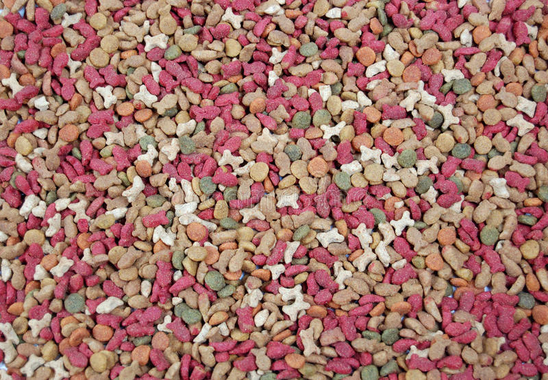 Dry Feed For Pets Stock Photography