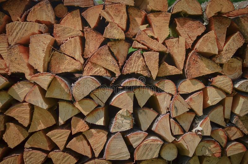 Fire wood ready to winter. Dry fire wood ready to winter like a walln stock photography