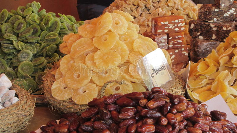 Download Dry fruits stock image. Image of stand, yellow, selection - 63894051