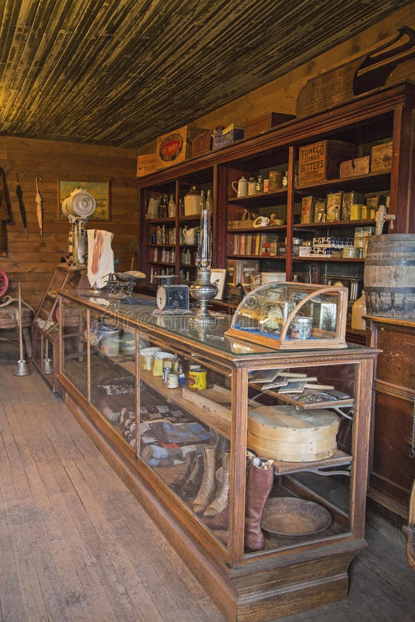 Dry Goods Or General Store Editorial Stock Photo Image Of