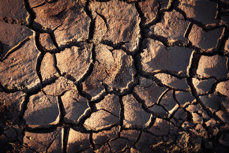 Dry Ground. Dry cracked ground on lagune dry water royalty free stock image