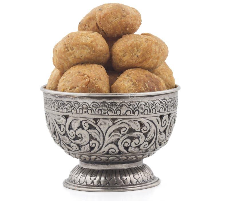 Dry kachori royalty free stock images