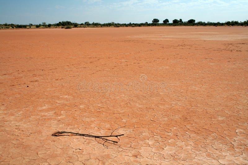 Dry Lake Bed stock image