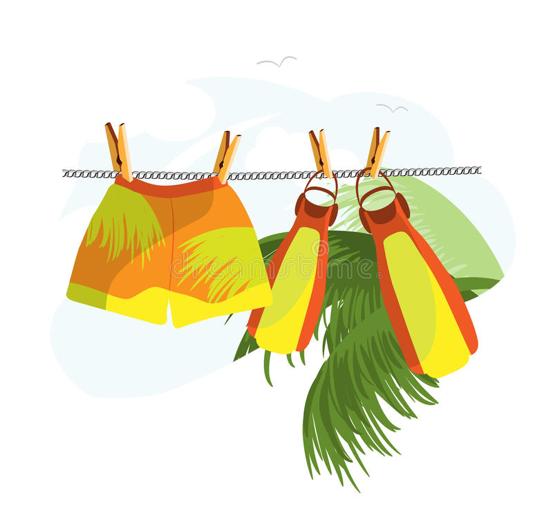 Download Dry The Linen_travels Stock Images - Image: 13326664