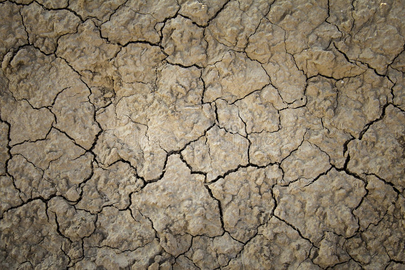 Dry mud soil due to drought royalty free stock photos