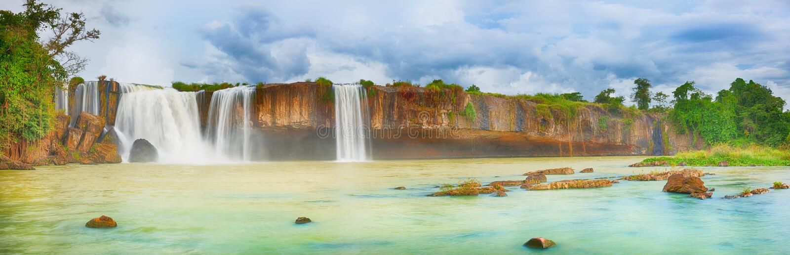 Dry Nur Waterfall Royalty Free Stock Photos