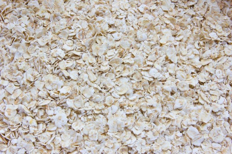 Dry oatmeal porridge stock photos