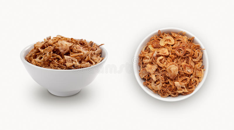 Dry onion. Isolated on a white background stock photography