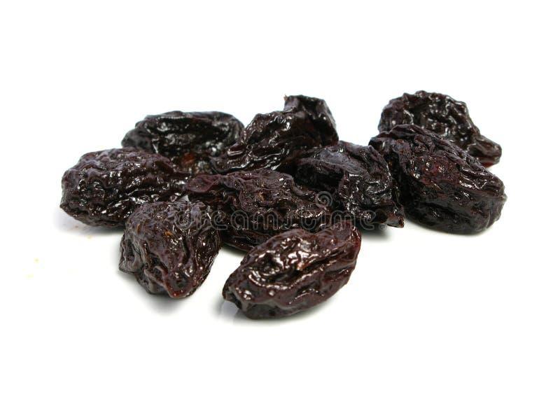 Dry plum or prune fruit stock photo