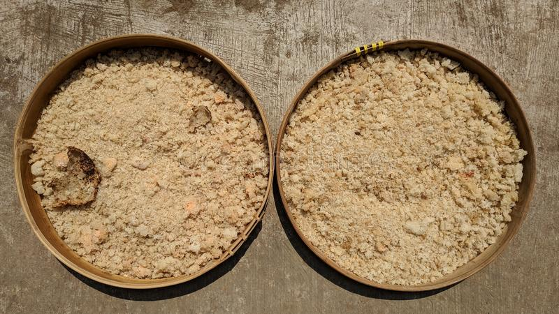 Nasi aking or dry rice is food that comes from the inedible remnants of rice that is cleaned and dried in the sun. Dry rice is food that comes from the inedible stock photos