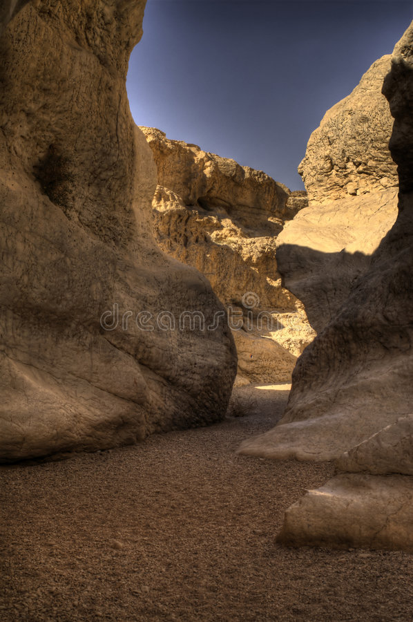 Dry river stock photo