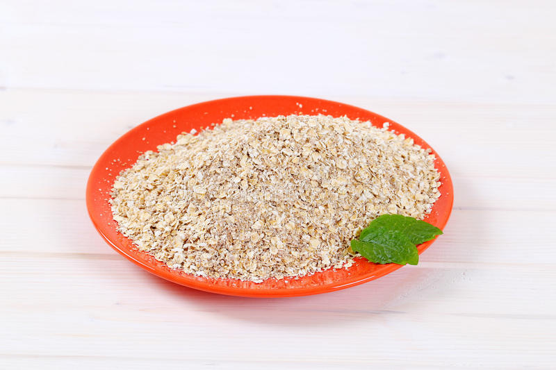Download Dry rolled oatmeal stock photo. Image of oatmeal, background - 83709542