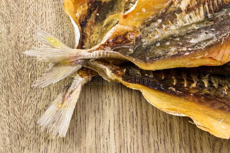 Dry Salted Fish Snack stock images