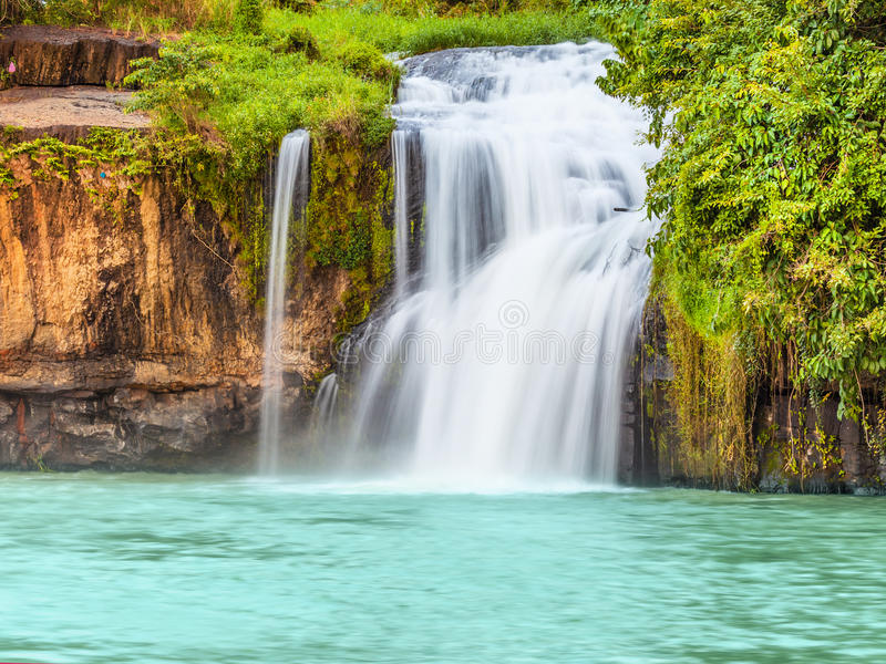 Dry Sap waterfall royalty free stock images