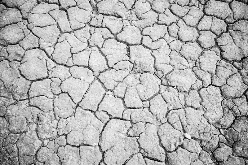 Dry soil by drought stock images