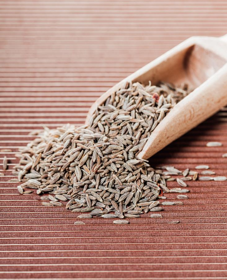 Dry spices cumin royalty free stock photo