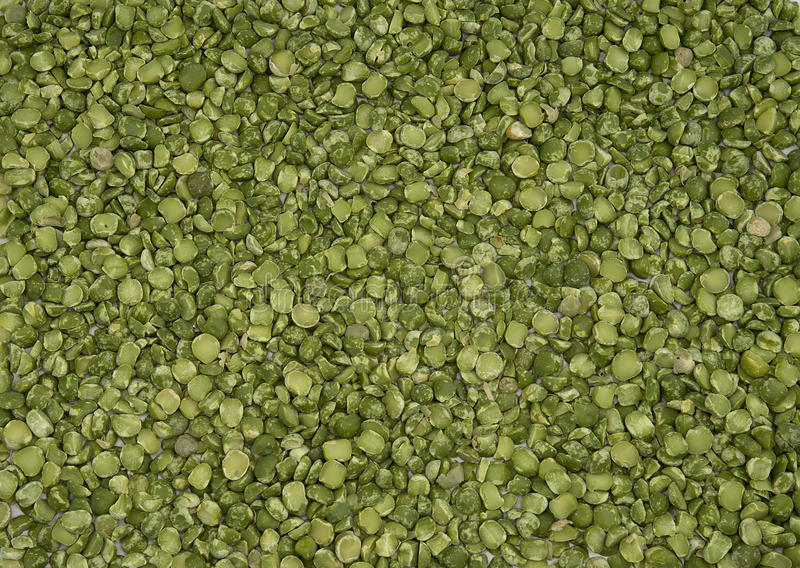 Dry split green peas texture royalty free stock photo
