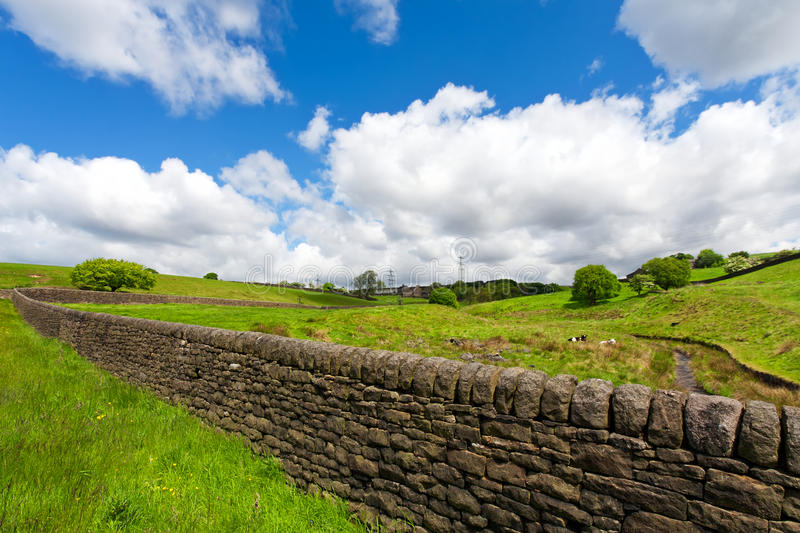Download A dry stone wall stock image. Image of rural, park, countryside - 14710991