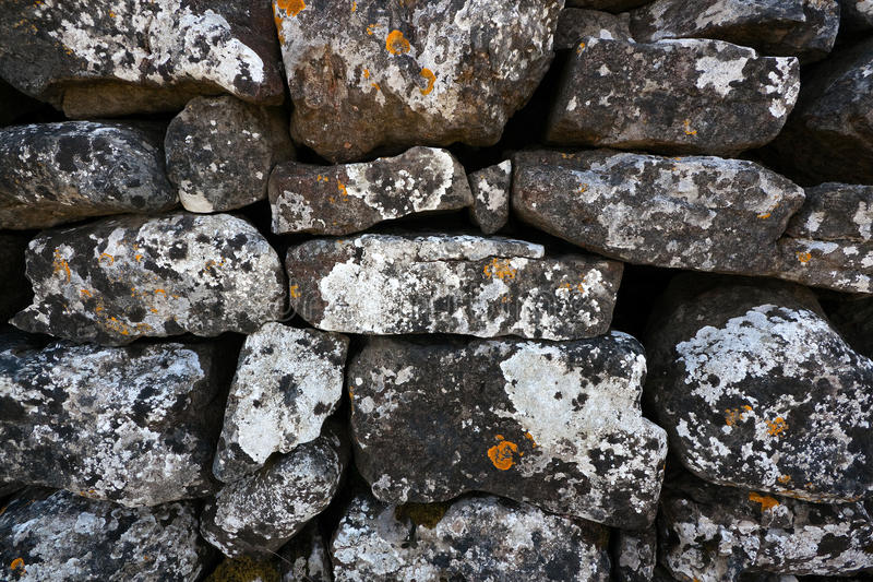 Download Dry Stone Wall stock image. Image of wall, stack, stone - 19655437