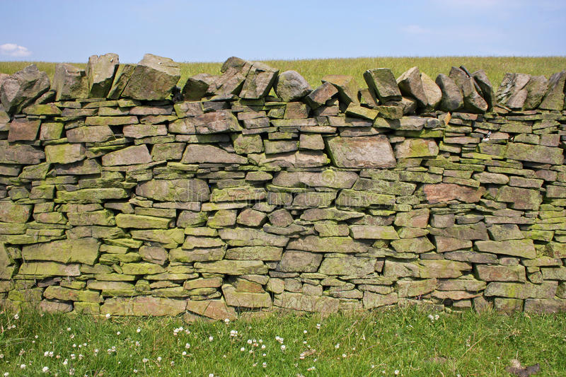 Download Dry stone wall stock image. Image of england, wall, field - 22283269