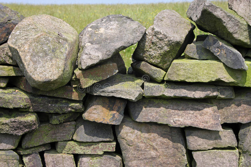 Download Dry stone wall stock image. Image of boundary, field - 24686137