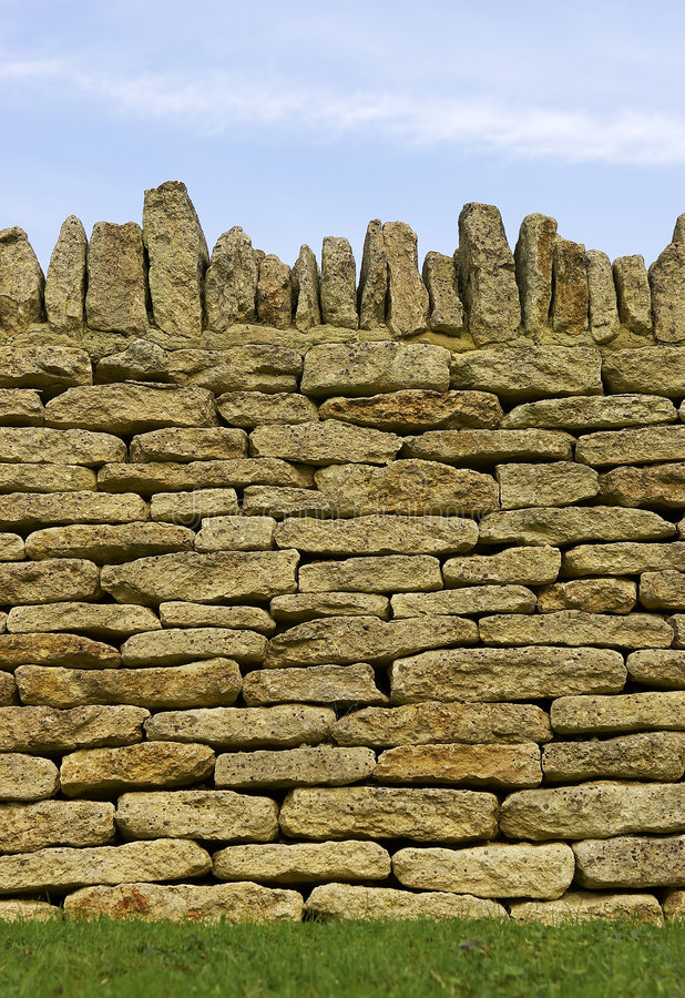 Free Dry Stone Wall Detail Stock Images - 288824
