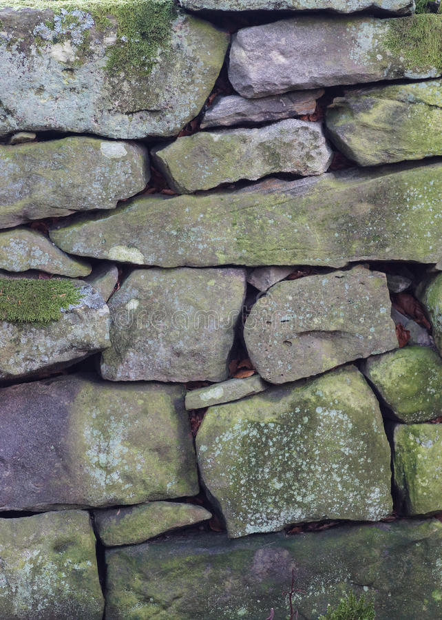 Dry Stone Wall Texture Background Royalty Free Stock Photos