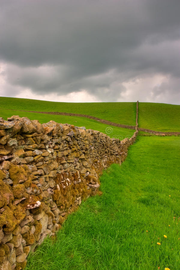 Download Dry stones wall stock photo. Image of outdoor, fence - 17634130