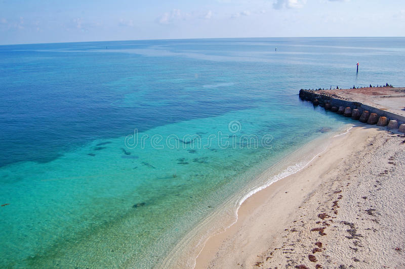 Dry Tortugas Beach Stock Images
