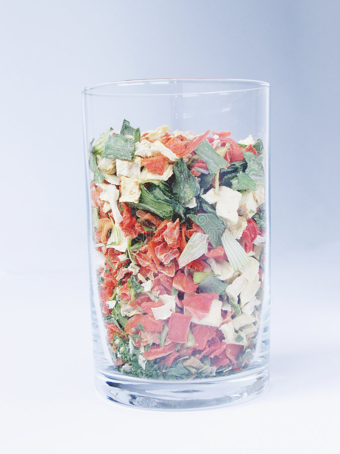 Download Dry vegetables in a glass stock image. Image of blue, white - 4060147