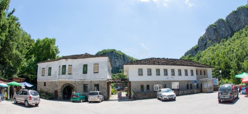 Dryanovo Monastery in Bulgaria stock images