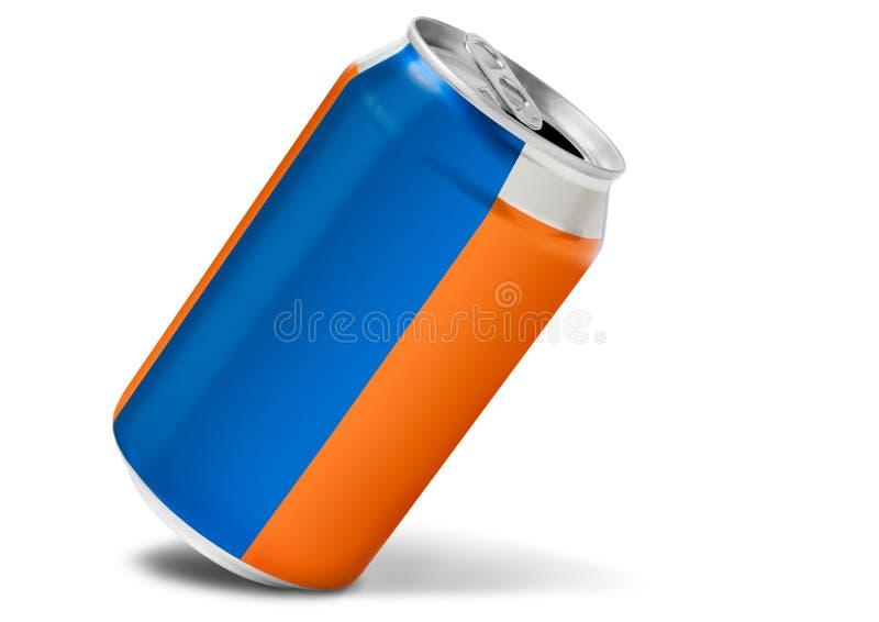 drycken kan dricka slappt arkivfoto