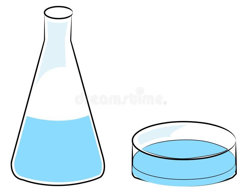 dryckeskärlmaträtt petri royaltyfri illustrationer