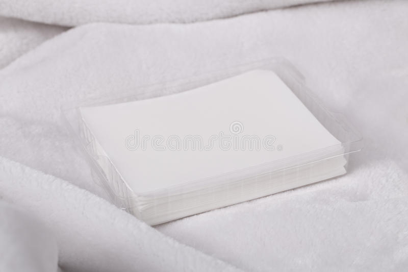 Dryer sheets stock images